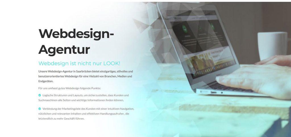 Webdesign Farbverlauf