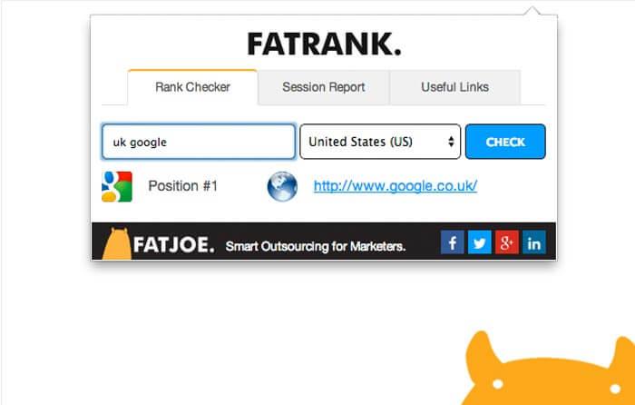 SEO Tool Fatrank